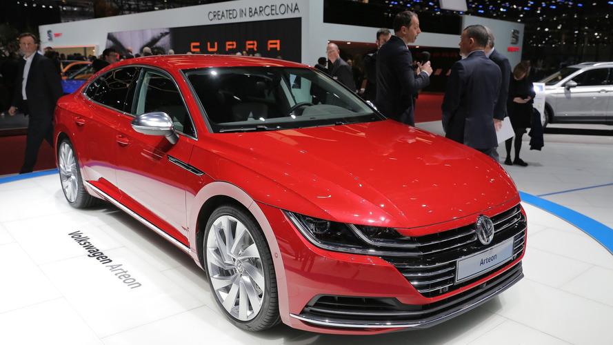 Volkswagen Arteon bir konsept gibi