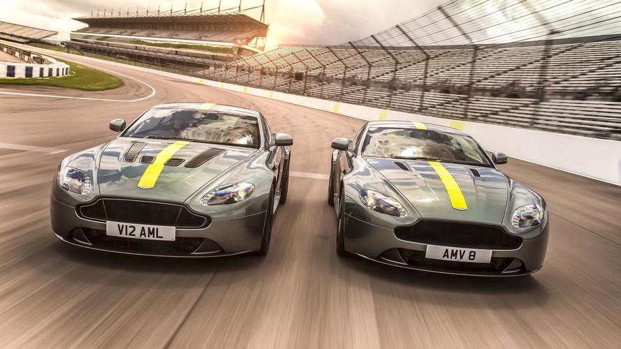 Hot New Limited Edition Aston Martin V8 and V12 Vantage Revealed