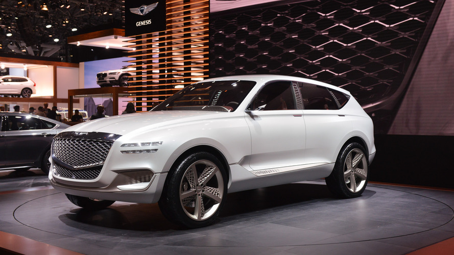 Genesis GV80 Concept Hints At Brand's First SUV