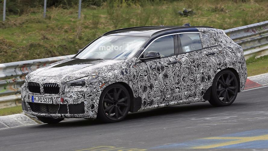 BMW X2 2018: el nuevo SUV alemán, cazado en Nürburgring