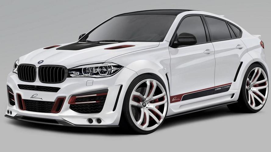 Lumma Design previews 2015 BMW X6 tuning program