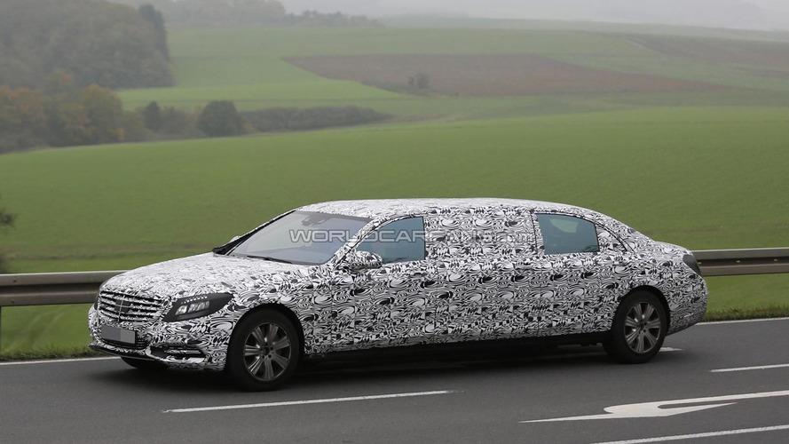 Mercedes-Maybach S-Class Pullman set for 2015 Geneva Motor Show reveal