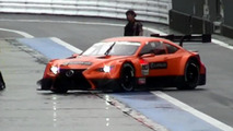 Lexus LF-CC race car spy video screenshot 30.09.2013