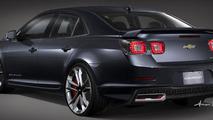 Chevrolet Malibu Turbo Performance Concept for SEMA 22.10.2012