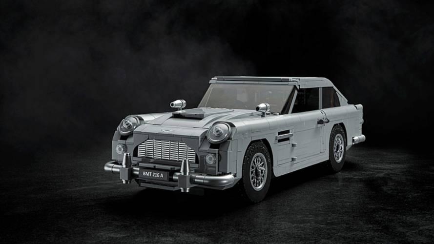 Lego bringt Aston Martin DB5 von James Bond