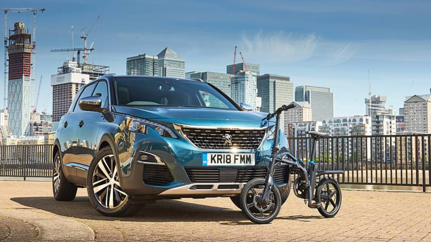 Peugeot electric folding bike now on sale in the UK