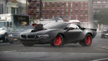 BMW i8 and Dodge Charger mashup