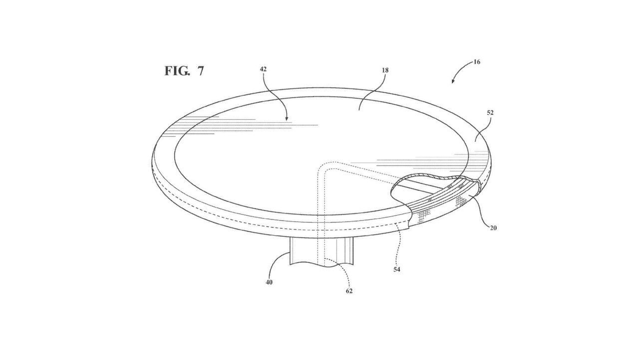 Ford Retractable Table Patent
