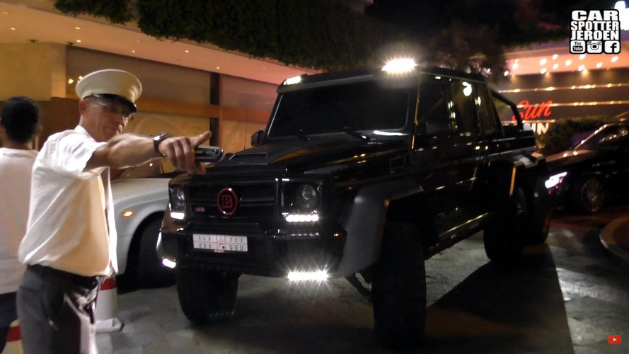 Tuned Mercedes G63 6x6 Banished From Monaco For Being Too Big