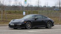 Porsche 911 R spy photo