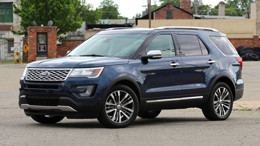Review: 2016 Ford Explorer Platinum