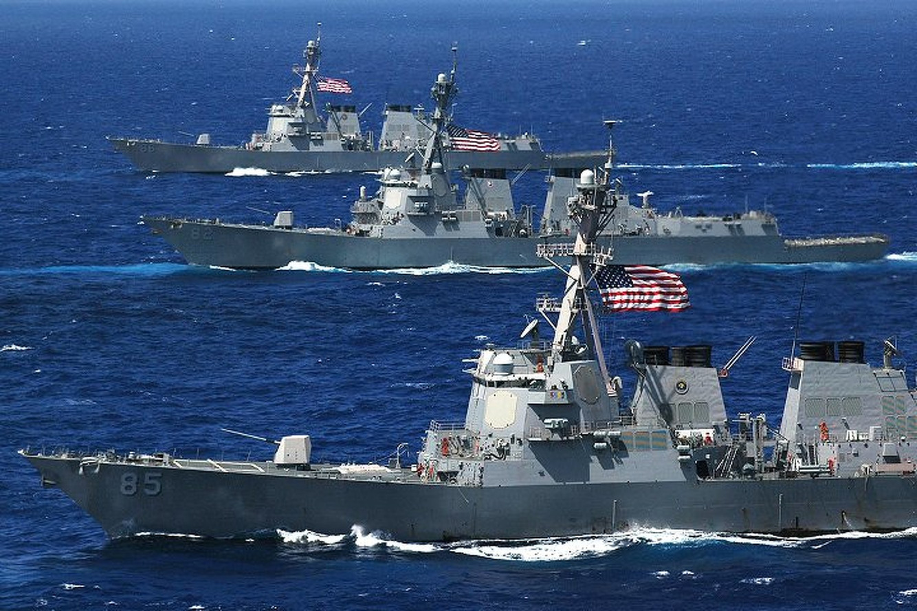 U.S. Navy Converting Guided Missle Destroyers into Hybrids