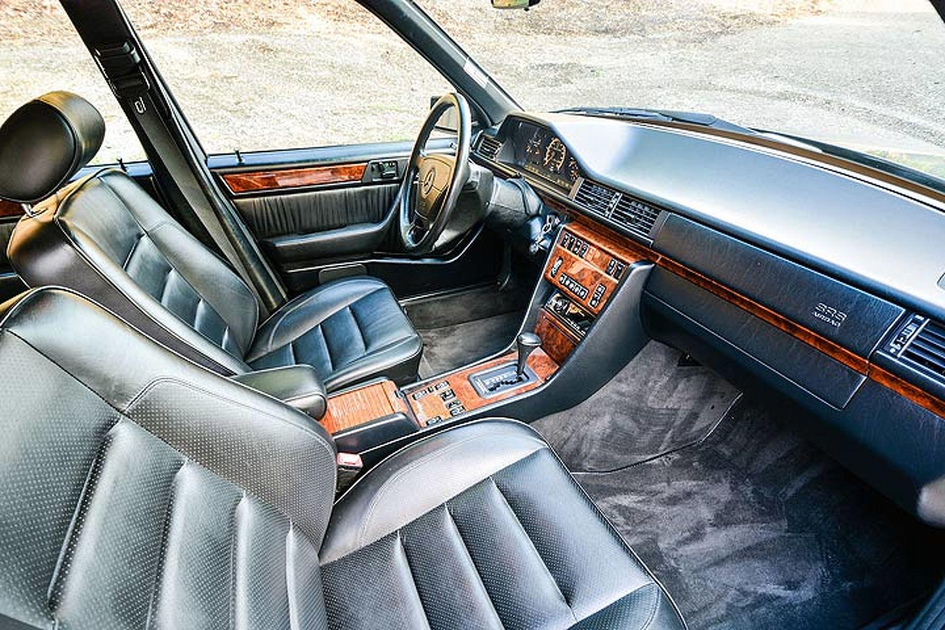 This Rare Mercedes 500E is the 'Benz that Porsche Built
