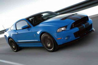 Several Laps in a Ford Shelby GT500