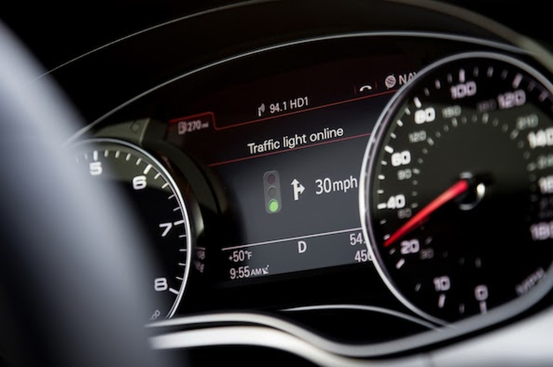 New Audi Technology Will Keep You from Waiting at Red Lights
