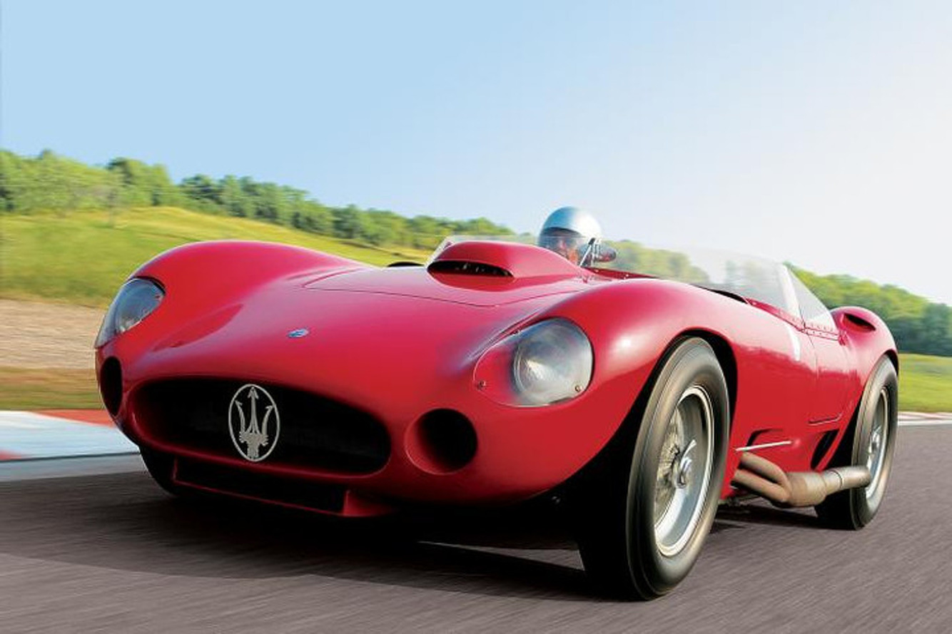Maserati Driven by Stirling Moss Could Fetch $7.75M at Auction
