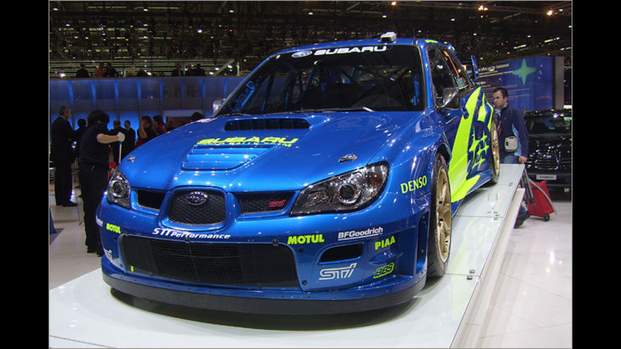 Subaru Impreza WRC 2007