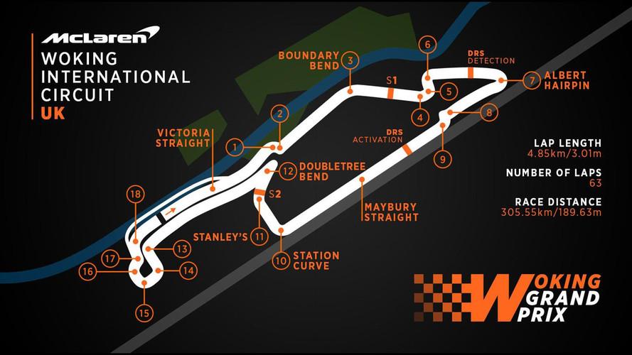McLaren anuncia los planes para un GP de Woking, en tono de broma