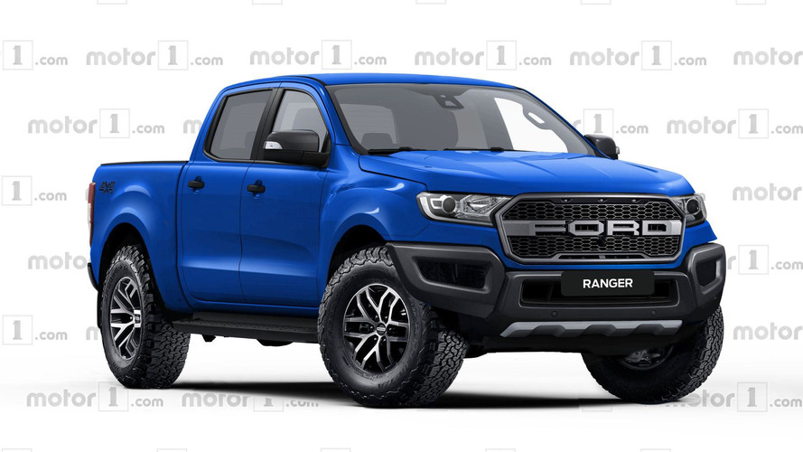 Ford Ranger Raptor Rendered, Ready To Rival Colorado ZR2