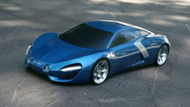 Renault Alpine Artists Rendering