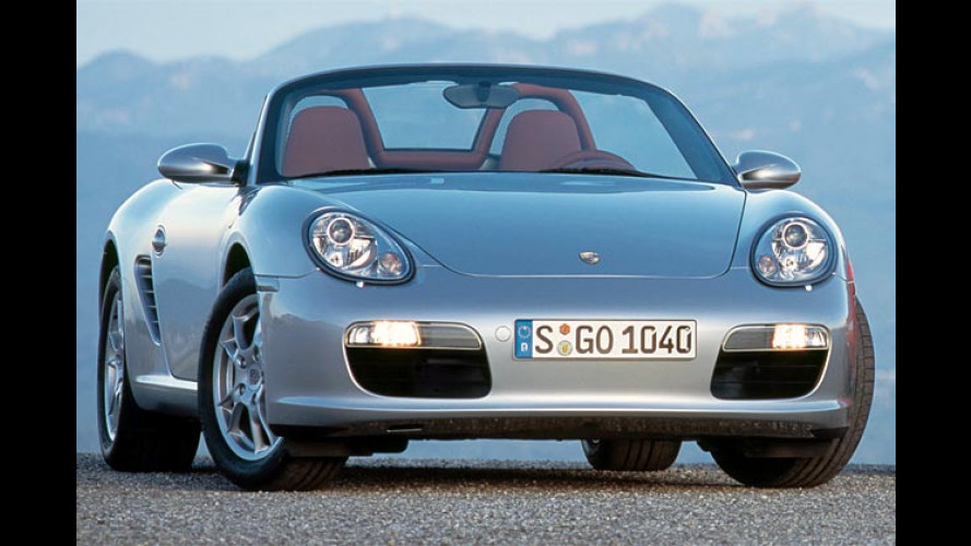 Porsche: Neuer Boxster und Boxster S auf dem Pariser Salon