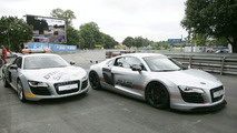 Audi R8 DTM Safety Car and Racing taxi