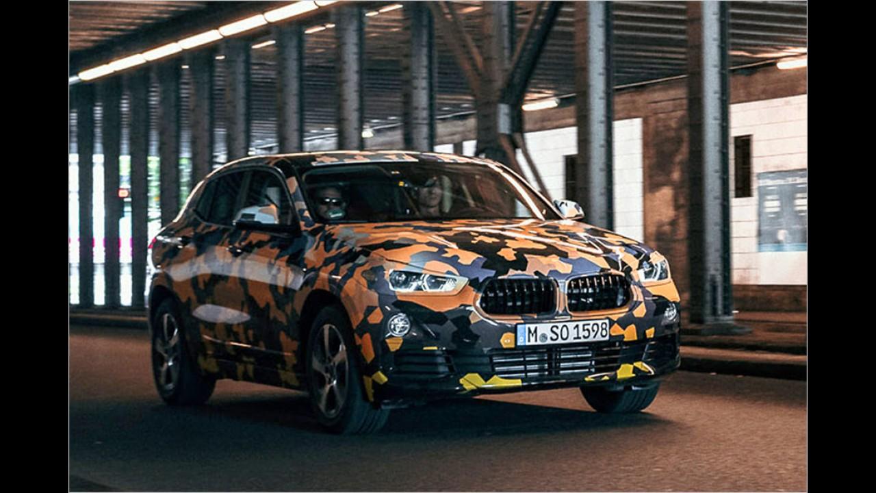 BMW X2: Offizielle Bilder
