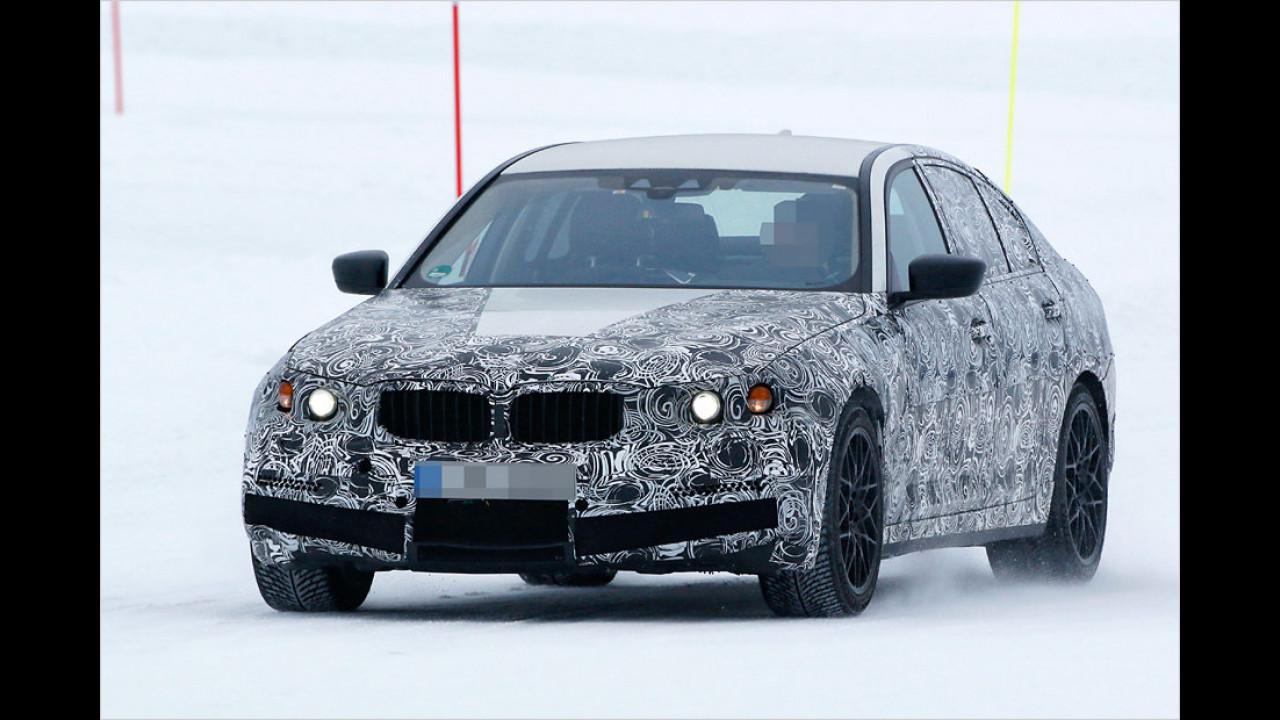 BMW testet Fünfer-Reihe