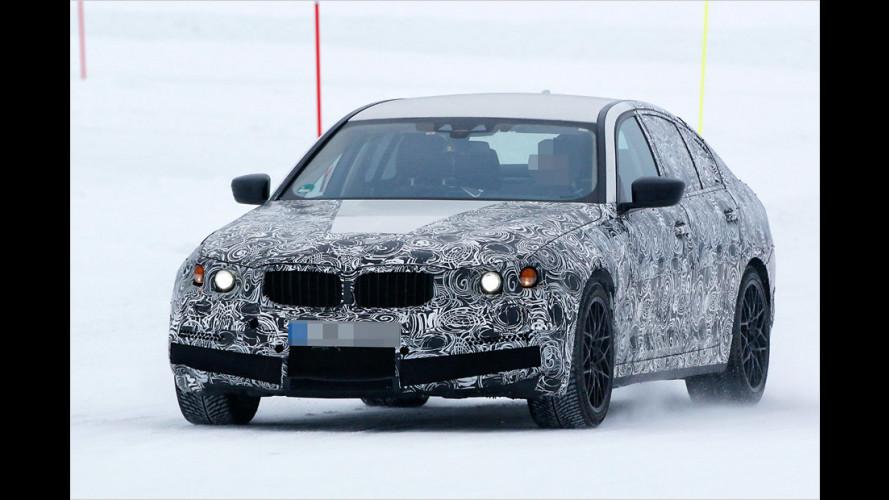 BMW-Erlkönig: Hier wedelt der M5