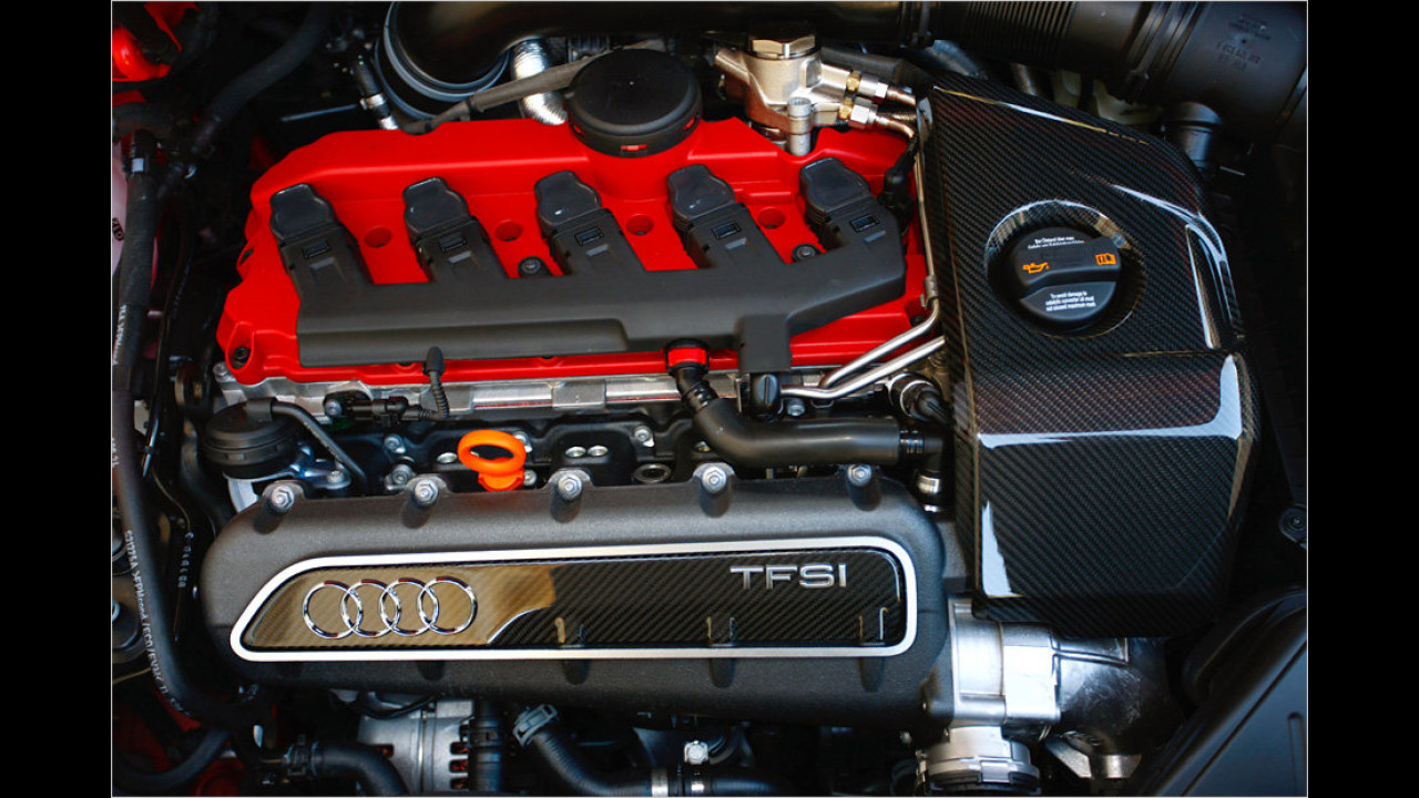Bester Motor bis 2,5 Liter: Audi-Fünfzylinder-Turbo