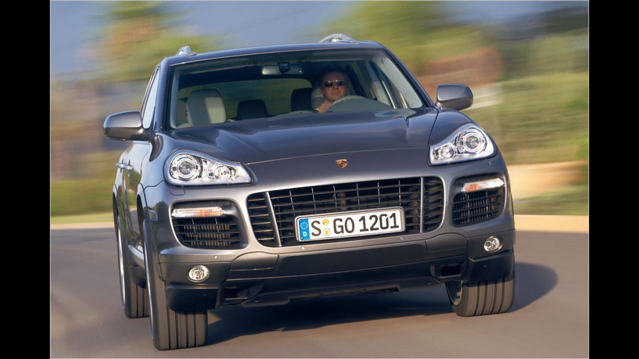 Platz 8: Porsche Cayenne Turbo