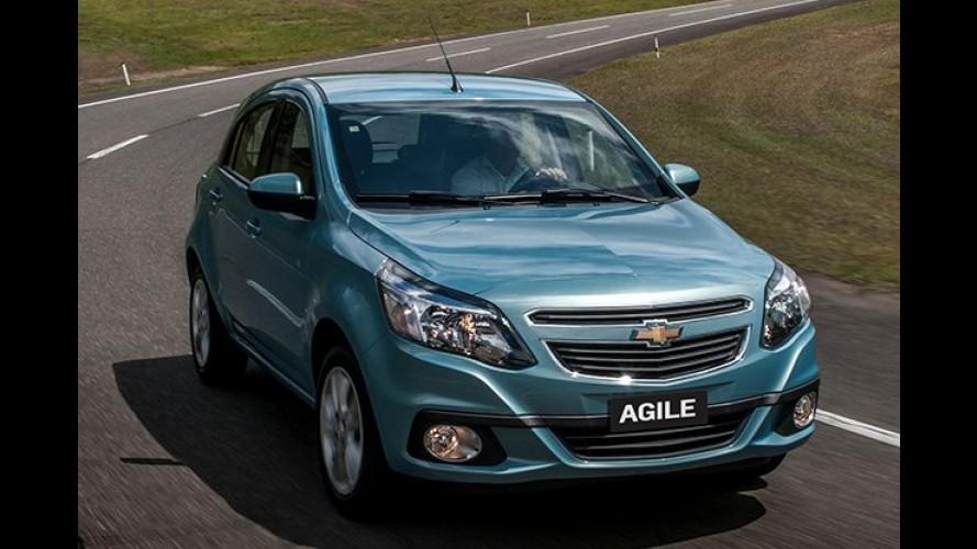 Chevrolet Agile registra em junho seu pior desempenho - confira trajetória de vendas