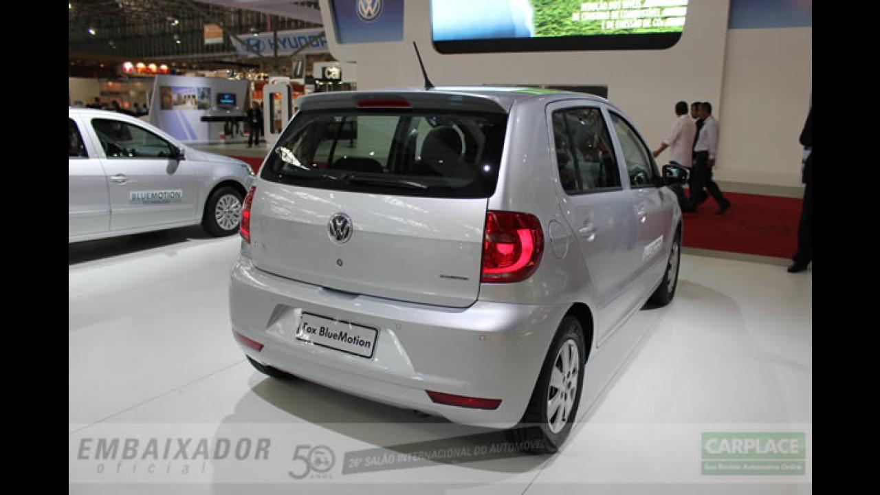 Salão do Automóvel: Volkswagen apresenta Fox e Gol Bluemotion