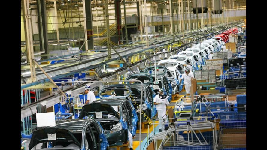 Honda FIT chega a marca de 300 mil unidades produzidas em Sumaré - SP