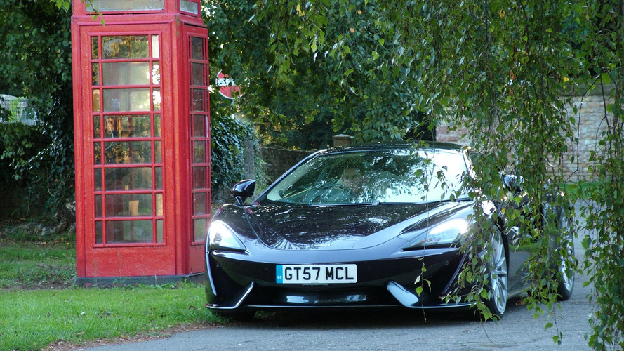 2017 McLaren 570GT: U.K. Road Trip