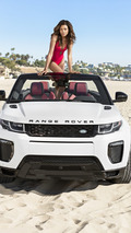 Naomie Harris and Range Rover Evoque Convertible
