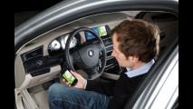 BMW studia la comunicazione avanzata tra l'automobile e internet