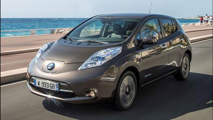 Nissan Leaf 30 kWh, l'autonomia non fa più paura
