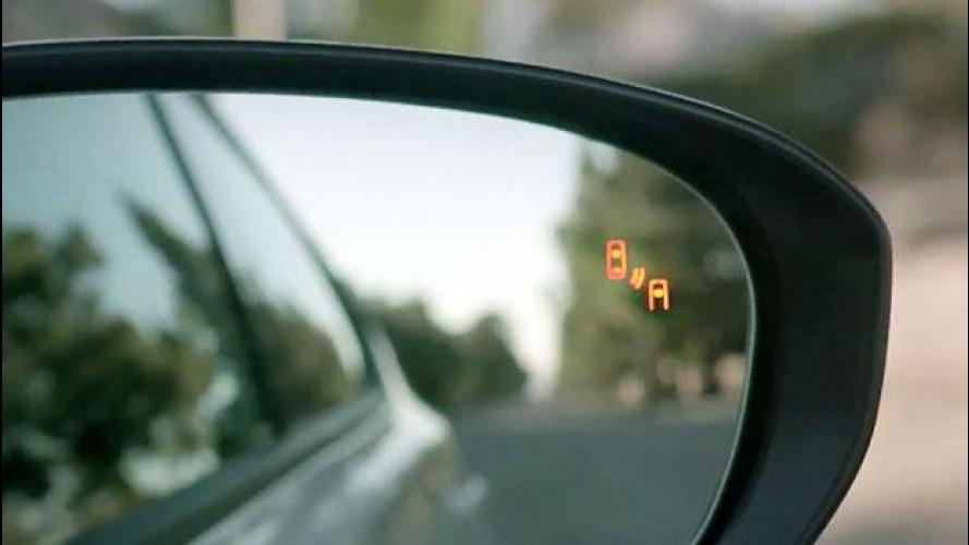 Accessori, il monitoraggio dell'angolo cieco è il più desiderato
