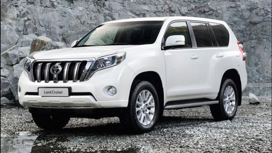 Toyota Land Cruiser, downsizing automatico