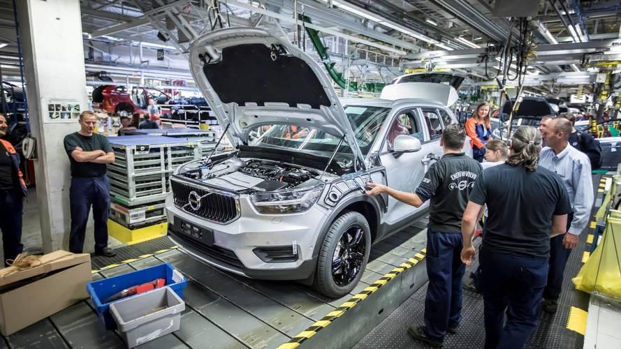 2018 Volvo XC40'ın üretimi Belçika'da başlıyor