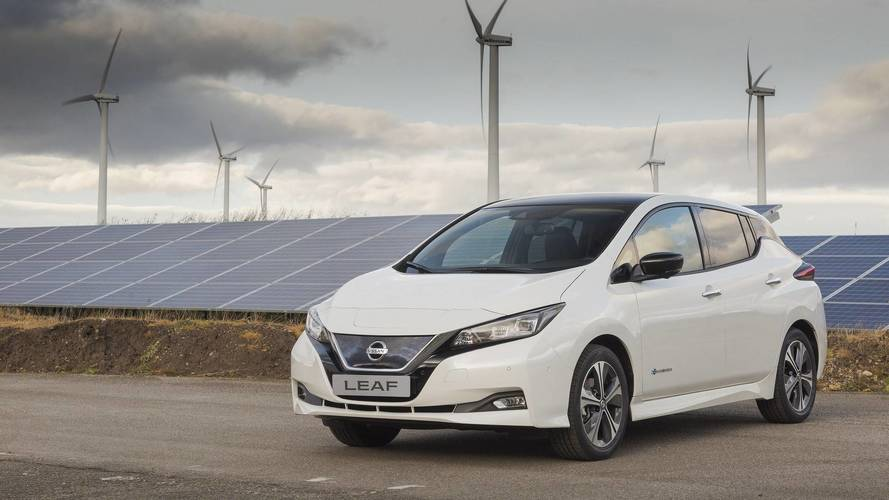 2018 Nissan Leaf production start in Europe
