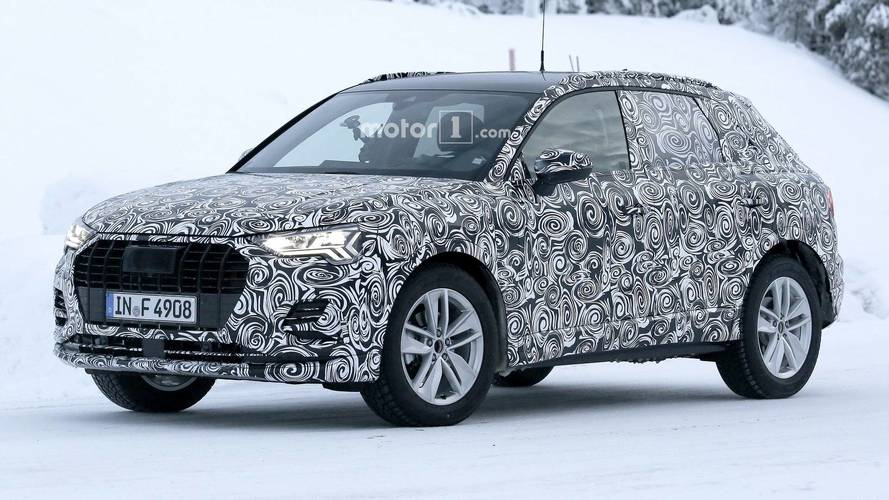 Yeni Audi Q3 hareket halindeyken yakalandı