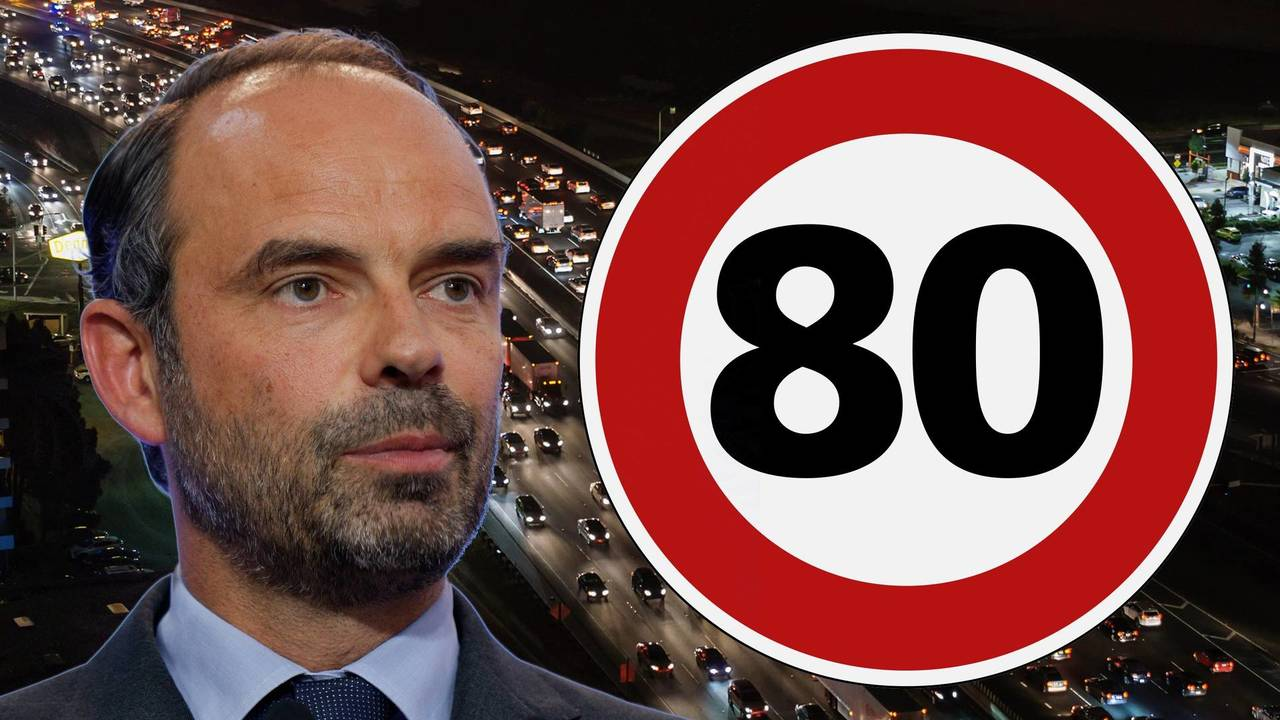 Edouard Philippe, Limitation de vitesse, Gouvernement