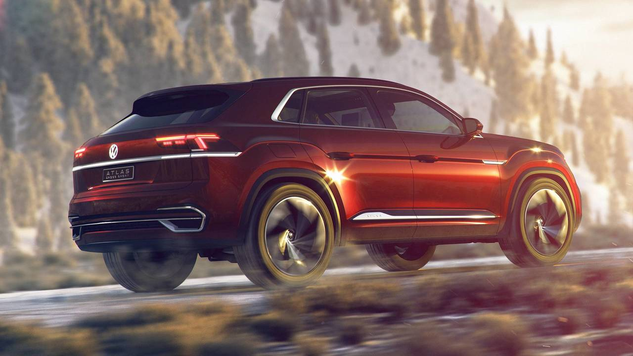 Volkswagen Atlas Cross Sport concept photo