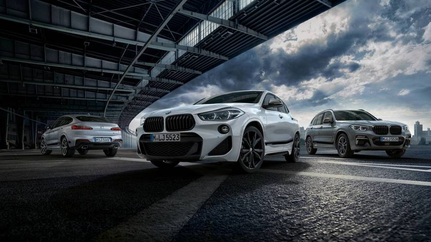BMW Spices Up X2, X3, And X4 With New M Performance Goodies
