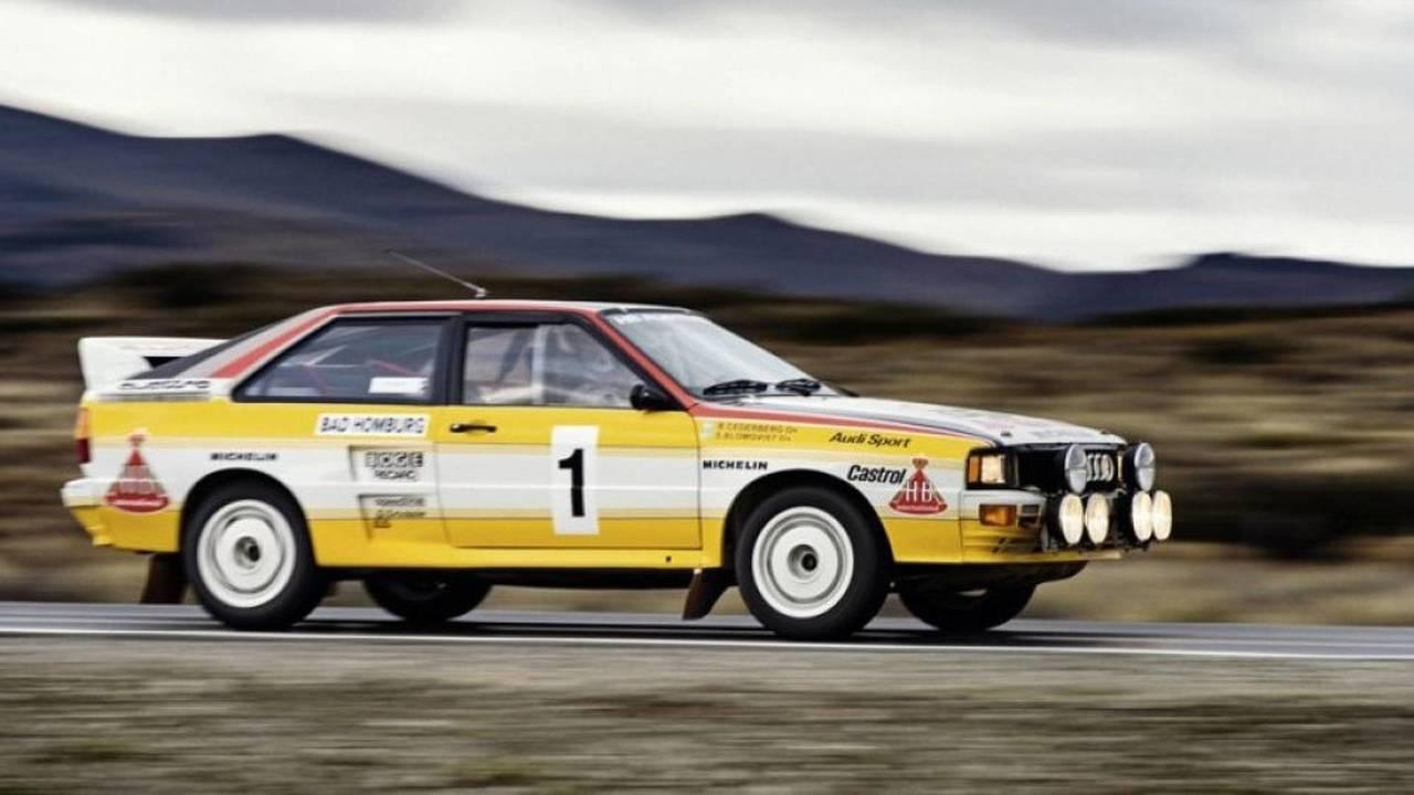 Audi quattro Groupe B (1983)