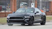 2019 Ford Mustang Bullitt photos espions