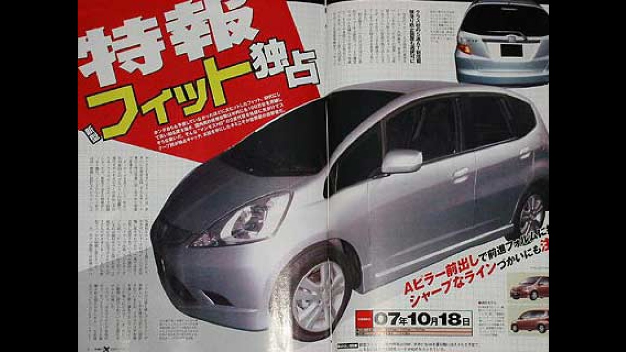 Veja como pode ser o Novo Honda FIT 2009