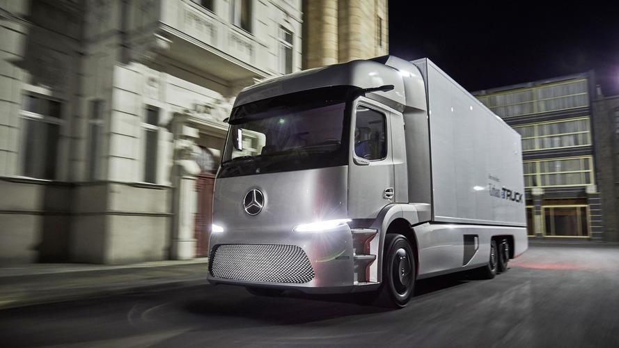 Mercedes'in Urban eTruck'ının teslimatları bu yıl yapılacak